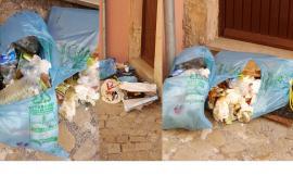 """Corridonia, rifiuti sparsi per via Corridoni: """"Situazione denunciata da tempo, nessuno ha fatto nulla"""""""