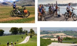 """Da Civitanova a Penna San Giovanni in bici: si parte con """"Noi Marche bike life"""""""