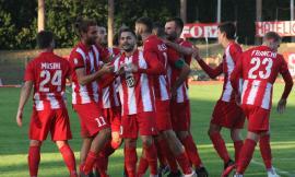 Serie C, finale thriller all'Helvia Recina per il Matelica: la vittoria contro il Cesena sfuma sul più bello (Video e Foto)