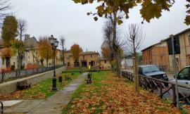 Valfornace, Festa dell'albero: piantati 10 tigli nei giardini di Piazza Vittorio Veneto