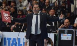"""Lube, si torna a giocare in diretta Rai dopo la sconfitta con Vibo. De Giorgi: """"I ragazzi scalpitano"""""""