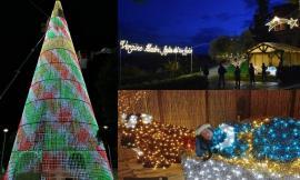 Urbisaglia accoglie il Natale, arriva l'Albero davanti alla Rocca e la natività al Parco archeologico