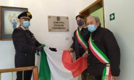 Sarnano, primo giorno di lavoro nella nuova sede:  i Carabinieri aprono gli uffici al pubblico