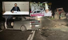 """Pieve Torina, Graziano Re resta in prognosi riservata. Pantana: """"Il trattore procedeva senza luci e lampeggianti"""""""