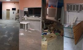 Porto Recanati, atti vandalici nella portineria dell'Hotel House: lo sfogo degli Angel Ranger  (FOTO)
