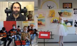 """Valfornace, Neri Marcoré """"duetta"""" con gli alunni in un video dedicato al maestro Morricone"""