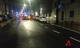 Macerata - Carambola di tre auto per evitare un animale sulla strada
