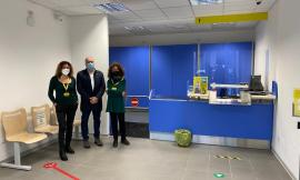"""Post sisma, a Valfornace Ufficio Postale di nuovo in centro: """"Serve anche uno sportello bancomat"""""""