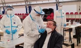 Corridonia, i numeri della prima giornata di screening: 1690 test effettuati, 6 casi positivi