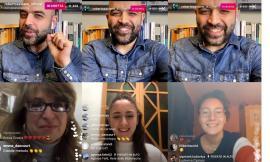 Roberto Saviano e gli studenti dell'Istituto Agrario di Macerata: dialogo in diretta social