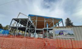 Pieve Torina, proseguono i lavori per il centro civico: opera conclusa entro il mese di giugno