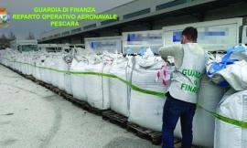Civitanova, oltre 250 tonnellate di rifiuti speciali stoccate in un capannone: 5 le denunce