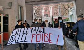"""Giù le mani dalle Foibe"", manifestazione Ugl a Macerata"