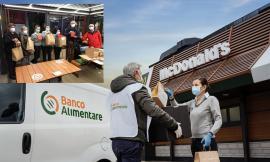 McDonald's e Banco Alimentare donano 200 pasti caldi a settimana: accordo sino a marzo