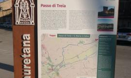 Valorizzazione dell'antica via Romano–Lauretana: totem informativo a Passo di Treia