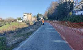 """Frana lungo la provinciale """"Corridoniana"""": al via i lavori di risanamento. Spesi 200mila euro"""