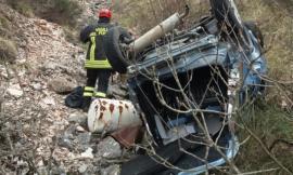 """Finisce in un fosso con l'auto lungo la provinciale """"Macereto"""": donna soccorsa in eliambulanza"""