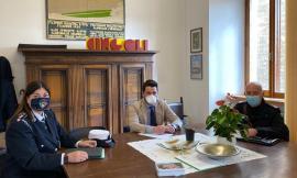 Cingoli, il sindaco accoglie il nuovo comandante della Polizia Locale: si insedia Marzia Paulini