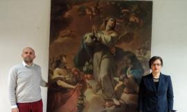 """Cingoli, via libera al restauro dell''Immacolata concezione': """"la Pinacoteca sarà rinnovata"""""""