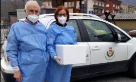 Belforte, il dottor Pascolini dà inizio ai vaccini porta a porta: inoculate le prime 11 dosi