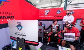 Moto2 Gp Qatar, Baldassarri cade all'ottavo giro: esordio stagionale da dimenticare in fretta