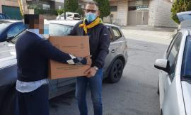 Recanati, pacchi alimentari per Pasqua: Coldiretti in prima linea con la campagna di solidarietà