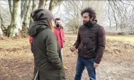 """Elcito e Canfaito diventano set cinematografici: iniziano i ciak del corto  """"Autoritratto con arma"""""""