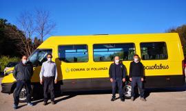"""Pollenza si prepara al rientro in classe: pronto nuovo scuolabus. """"Garantito il distanziamento"""""""