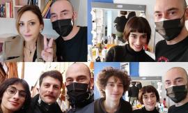 Montecosaro, l'hair stylist Roberto Acquaroli ha 'messo le mani' sugli attori dell'ultimo film dei Manetti Bross