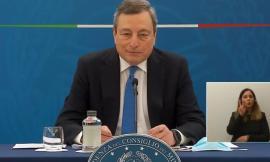 """Dal 26 aprile si torna in giallo, Draghi: """"Scuole tutte aperte e precedenza alle attività all'aperto"""""""