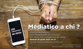 Civitanova, uso consapevole dei media: un webinar con l'esperto Marco Gasparini