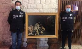 Castelraimondo, torna a casa dipinto del XVI secolo: fu trafugato dal Castello Lanciano nel 1981