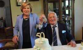 Castelraimondo, nozze d'oro per Nando e Tina: gli auguri di tutta la comunità