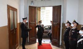 Il generale Carmelo Burgio arriva nelle Marche: visita ai Comandi dei Carabinieri del Maceratese
