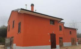San Severino, torna agibile un'abitazione in località Parolito