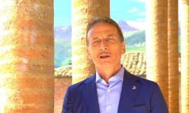 """Primo ciak per lo spot con Cesare Bocci: """"Sarnano da bambino era la meta della domenica"""" (VIDEO)"""