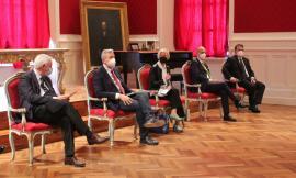 """Recanati, svelata la mostra """"Arte per il bene comune"""": il ricavato andrà a favore della telemedicina (FOTO)"""