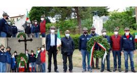 Il Gruppo Alpini di Recanati e Castelfidardo ricorda il maggiore Ceccaroni a 80 anni dalla morte