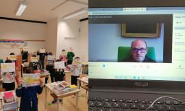 Bullismo e Cyberbullismo, Padre Gabriele Gionti a colloquio con gli alunni dell'I.C.'Monti' di Pollenza
