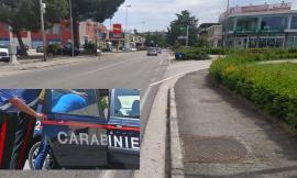 Corridonia, folle corsa in auto per evitare l'arresto: fuggitivo provoca incidente e viene bloccato