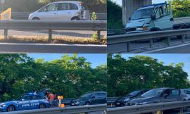 Ancora un incidente in superstrada: tre veicoli coinvolti, un ferito al pronto soccorso