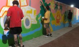 Potenza Picena, la street art dà nuova vita all'ex casello ferroviario: intervista agli ideatori