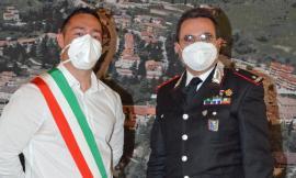 Pieve Torina, il sindaco incontra il generale dei carabinieri Salticchioli