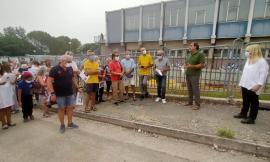 """Aperto il cantiere dell'area che ospiterà il nuovo edificio del Divini: """"ora accelerare i lavori"""""""