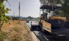 San Severino, nuovo asfalto sulla Rocchetta - Caruccio coi proventi delle multe