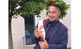 Treia, corona d'alloro per Andrea Clementi: laurea in Scienze Pedagogiche
