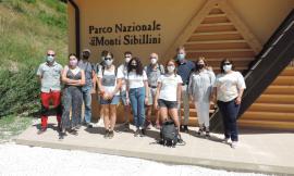 Studenti Unicam in visita al Parco dei Sibillini: in ballo la gestione delle aree protette