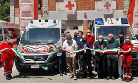 Croce Rossa Camerino, si arricchisce il parco macchine: in servizio due nuove ambulanze (FOTO)