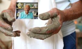 """Luciano Bozzi, 89 anni e una vita dietro il tornio: """"la nostra è un'arte lenta, i giovani non l' apprezzano"""" (FOTO)"""
