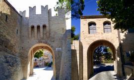 Montecassiano, conclusi i lavori di restauro della Porta Castellana Armando Diaz